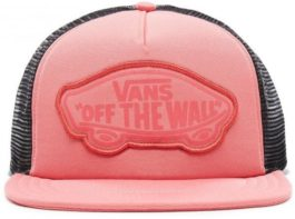 280d0609d Šiltovka Vans WM BEACH GIRL TRUCKER HAT DESERT ROSE vn000h5lydz1
